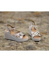 Бежови дамски ежедневни сандали Marley в online магазин Fashionzona