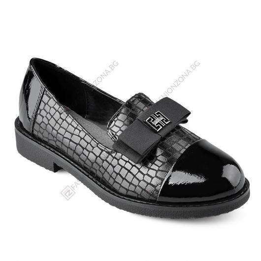 Черни дамски ежедневни обувки Alayah