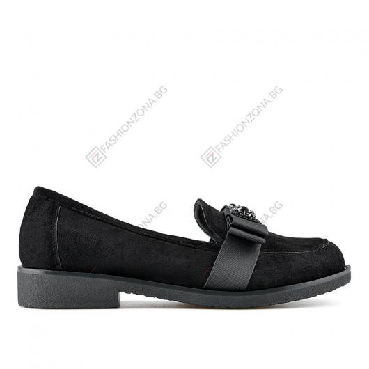 Черни дамски ежедневни обувки Sallie
