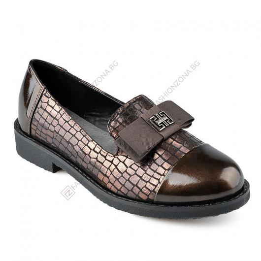 Бронзови дамски ежедневни обувки Winifred