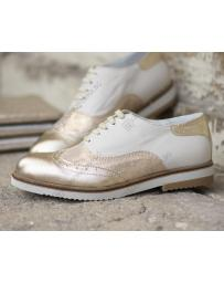 Бежови дамски ежедневни обувки Ivonna в online магазин Fashionzona