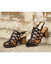 Черни дамски ежедневни сандали Lennox в online магазин Fashionzona