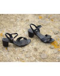 Черни дамски елегантни сандали Halle