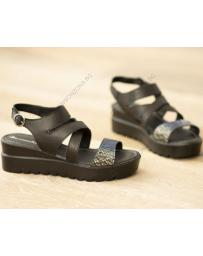 Черни дамски ежедневни сандали Zahra в online магазин Fashionzona
