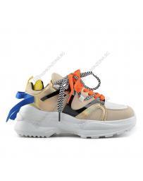 Бежови дамски ежедневни обувки Rachael
