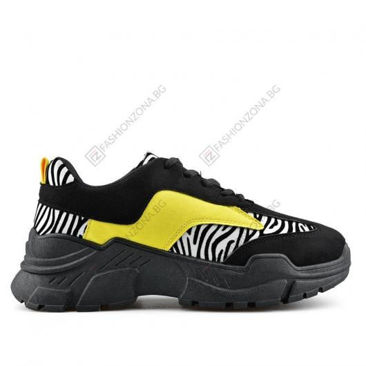 Черни дамски ежедневни обувки Tammie