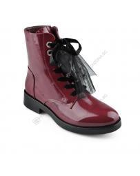 Червени дамски ежедневни боти Rayna в online магазин Fashionzona