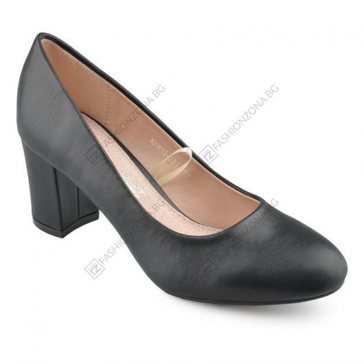 Черни дамски елегантни обувки Kandy