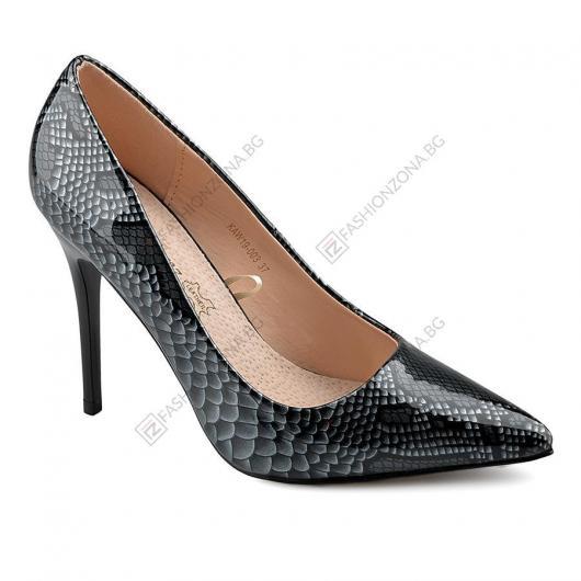 Черни дамски ежедневни обувки Flossie
