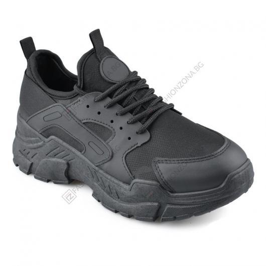 Черни дамски ежедневни обувки Aubriella