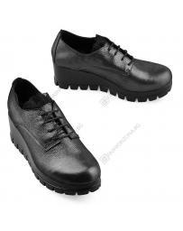 Черни дамски ежедневни обувки Harley