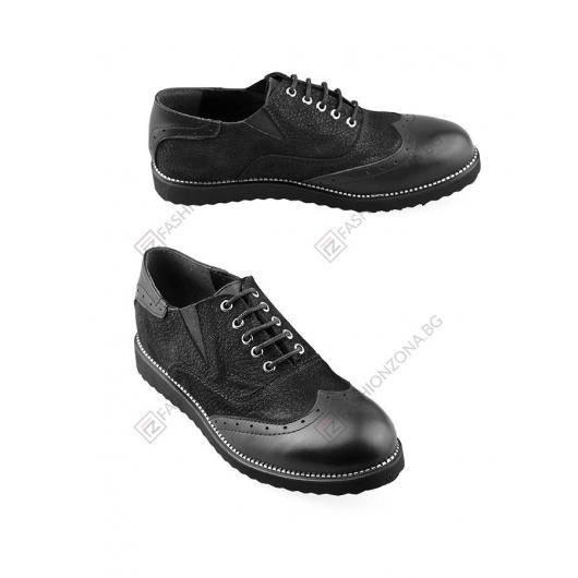 Черни дамски ежедневни обувки Myah