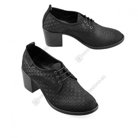 Черни дамски ежедневни обувки Saoirse