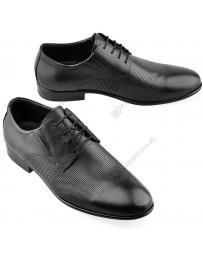 Черни мъжки елегантни обувки Stella в online магазин Fashionzona