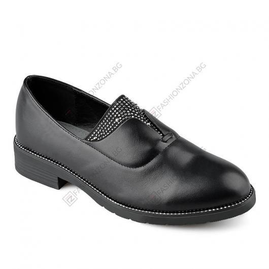 Черни дамски ежедневни обувки Eunice