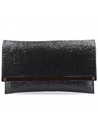 дамска елегантна чанта черна 0126411