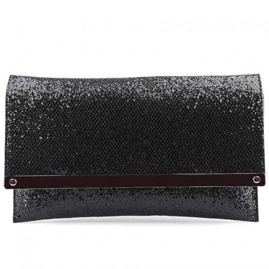 Черна дамска елегантна чанта Pipere