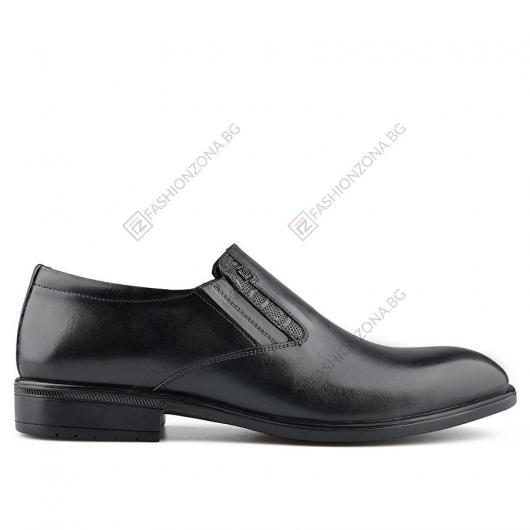 Черни мъжки елегантни обувки Lonzell