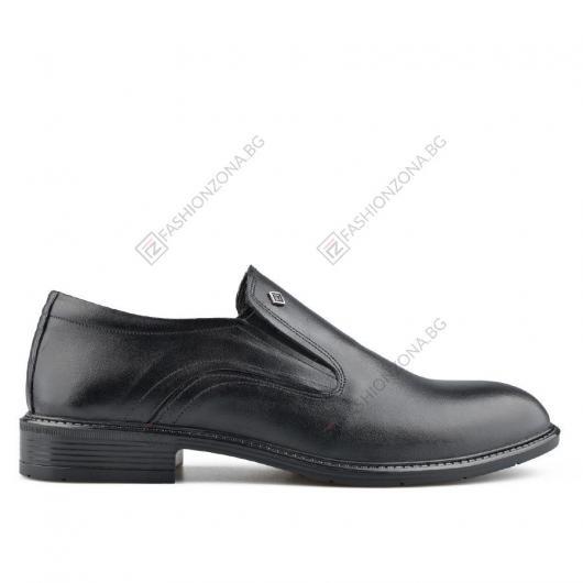 Черни мъжки елегантни обувки Salvino