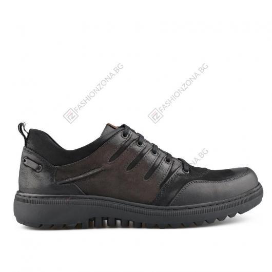 Черни мъжки ежедневни обувки Montrel