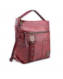 Червена дамска ежедневна чанта Dakota в online магазин Fashionzona