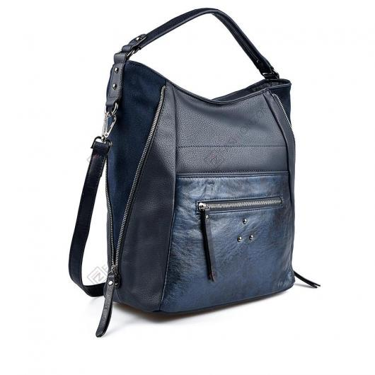 Синя дамска ежедневна чанта Lizzie