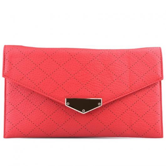 Червена дамска елегантна чанта Upala