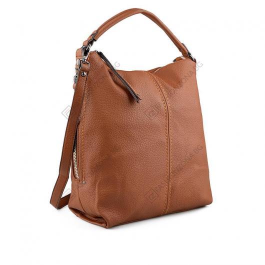 Кафява дамска ежедневна чанта Robyn