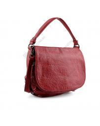 Червена дамска ежедневна чанта Peggy