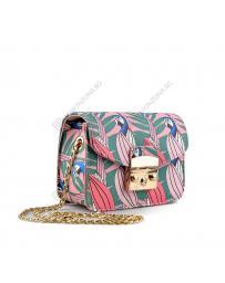 Синя дамска ежедневна чанта Tatiana