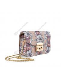 Бежова дамска ежедневна чанта Latonya