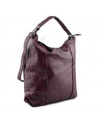 Червена дамска ежедневна чанта Shawn