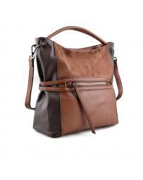 Кафява дамска ежедневна чанта Sharron в online магазин Fashionzona