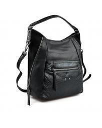 Черна дамска ежедневна чанта Leilani