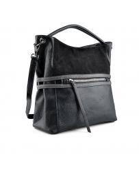 Черна дамска ежедневна чанта Maliyah