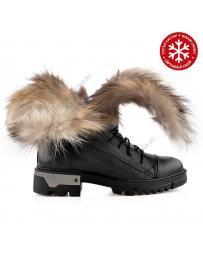 Черни дамски боти с топъл хастар Jannie в online магазин Fashionzona