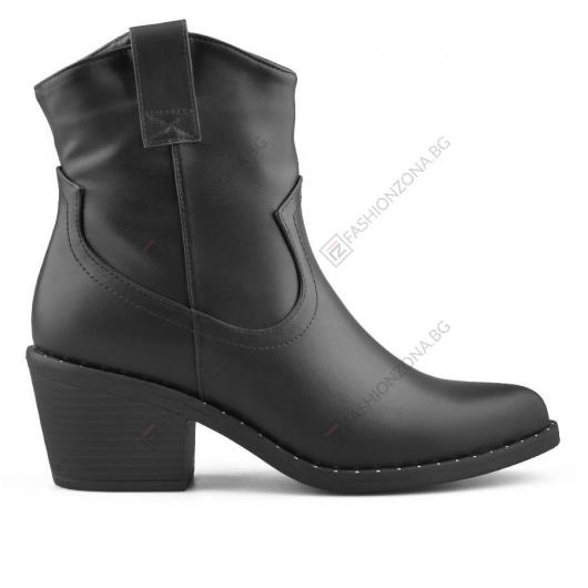 Черни дамски ежедневни боти Marleigh