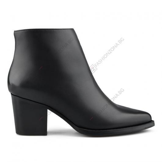 Черни дамски елегантни боти Alessia