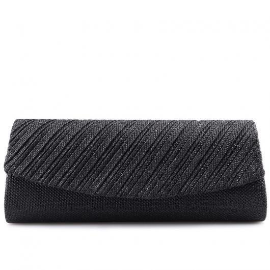Черна дамска елегантна чанта Zolia