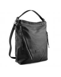 Черна дамска ежедневна чанта Miracle