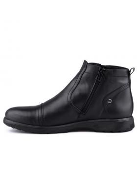 Черни мъжки елегантни боти 0125883 в online магазин Fashionzona