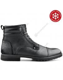 Черни мъжки ежедневни боти с топъл хастар Cristian в online магазин Fashionzona