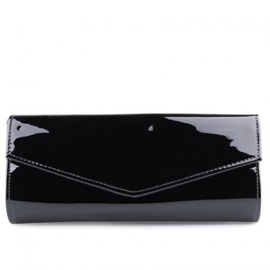 Черна дамска елегантна чанта Cheriese