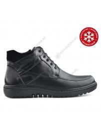 Черни мъжки ежедневни боти с топъл хастар Xavier в online магазин Fashionzona