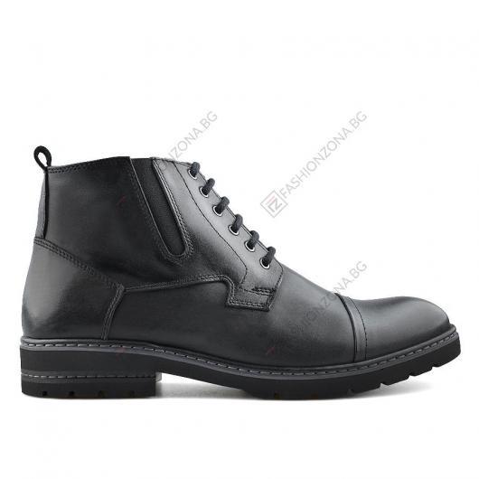 Черни мъжки ежедневни боти Tulio