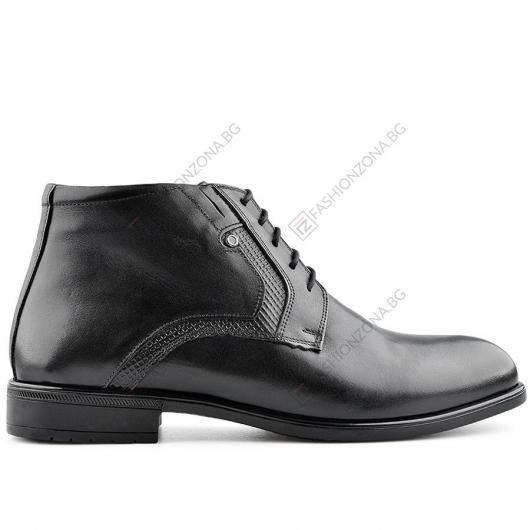 Черни мъжки елегантни боти Inocencio