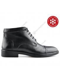 Черни мъжки елегантни боти с топъл хастар Che в online магазин Fashionzona
