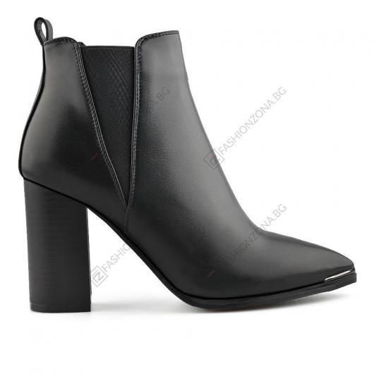 Черни дамски елегантни боти Cipriano