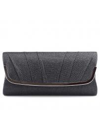 Черна дамска елегантна чанта Pallavi в online магазин Fashionzona