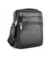 Черна мъжка ежедневна чанта Xayvion
